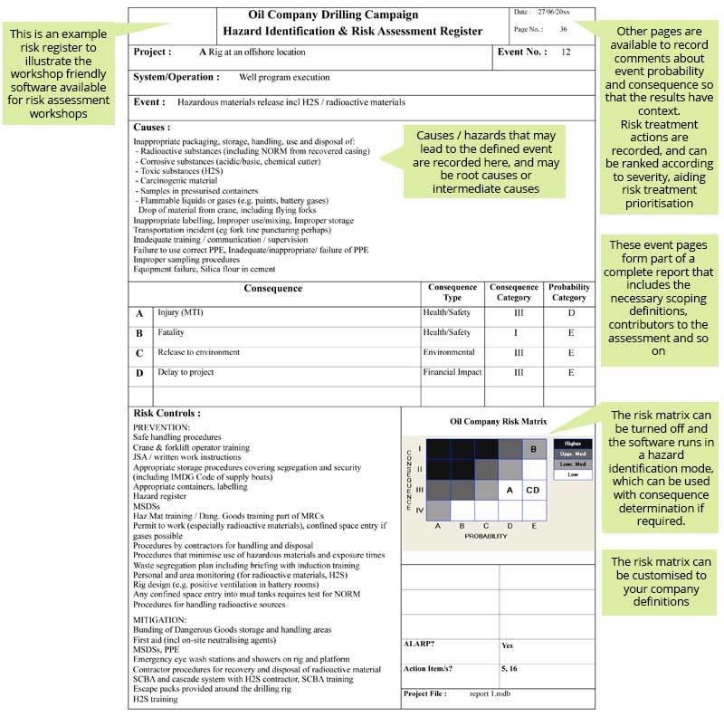 example scenario page